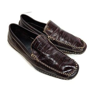 Stacy Adams Leather Brown Loafer Driving Shoes